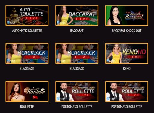 kingswin live casino games