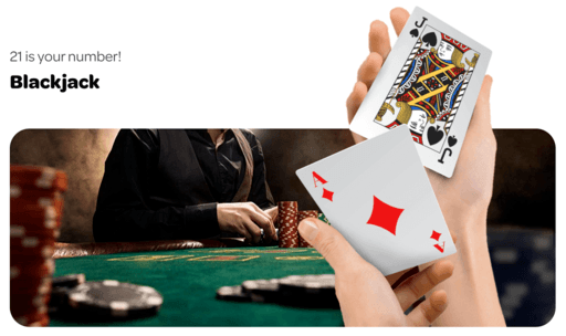 spincasino blackjack