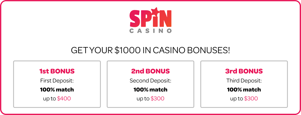 spin casino canada welcome bonus